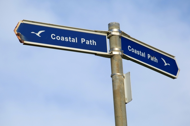 Isle of Wight coastal path sign.jpg